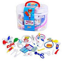 Детский набор доктора в чемодане (36 предметов)