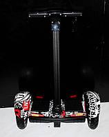 """Гироскутер F1 10"""" BT  (Черный) (АКБ Samsung), Гироборд мощный, Гироборд с ручкой"""