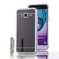 Накладка Чехол для Samsung j3 j320 (Mirror-like)