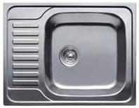 Врезная кухонная мойка Platinum 58*48*18 Electro-Satin 0.6, фото 1