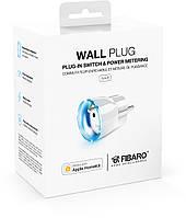 Розеточный выключатель со счетчиком электроэнергии  FIBARO Wall Plug для Apple HomeKit - FGBWHWPE-102