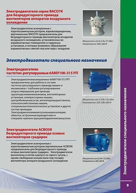 Электродвигатели с Регулируемыемым электроприводом