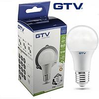 Светодиодная LED лампа GTV, 10W, E27, диммируемая, 10%/50%/100%. ПОЛЬША!!! Гарантия - 3 года