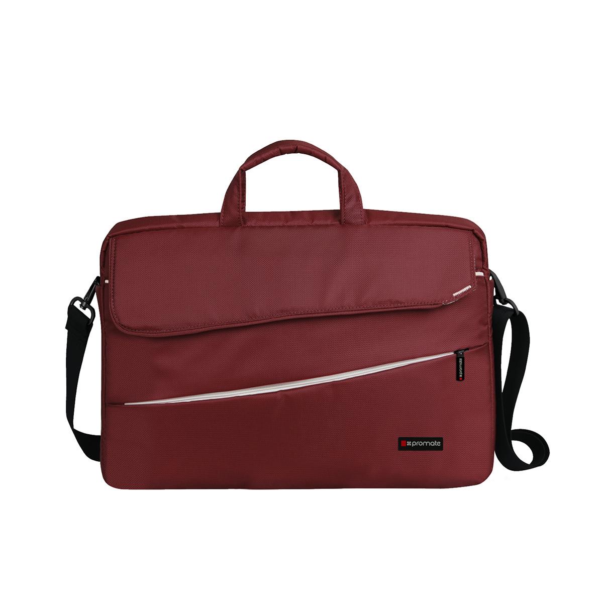 "Сумка для ноутбука Promate Charlette 15.6"" Red"