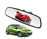 """Зеркало-монитор в авто для камеры заднего вида 4.3"""" дюйма"""