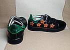 Черные кеды - туфли-кроссовки, р. 26, 28, 29, 31, 32, 33, 34, фото 4