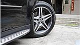 Бризковики Mercedes Benz ML 164 (з порогами) 2005-2012 (повний кт 4-шт), кт., фото 4