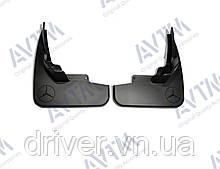 Бризковики Mercedes-Benz ML164 (без порогів) 2005-2012 (передні), кт.2шт, B66528228