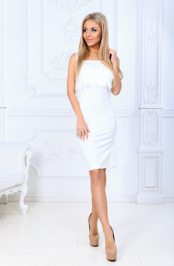 926504dc013617d Красивое коктейльное платье с бахромой 155810, цена 400 грн., купить в  Харькове — Prom.ua (ID#674889919)
