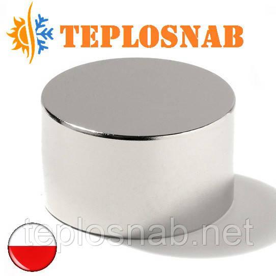 Магнит неодимовый 45х35 (115 кг)
