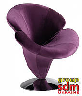Кресло Орхидея, ткань фиолетовая SDMORCH