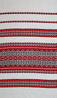 Ткань с украинским орнаментом Надвечір'я ТДК 117 4/1, рушникова тканина, тканина на рушники