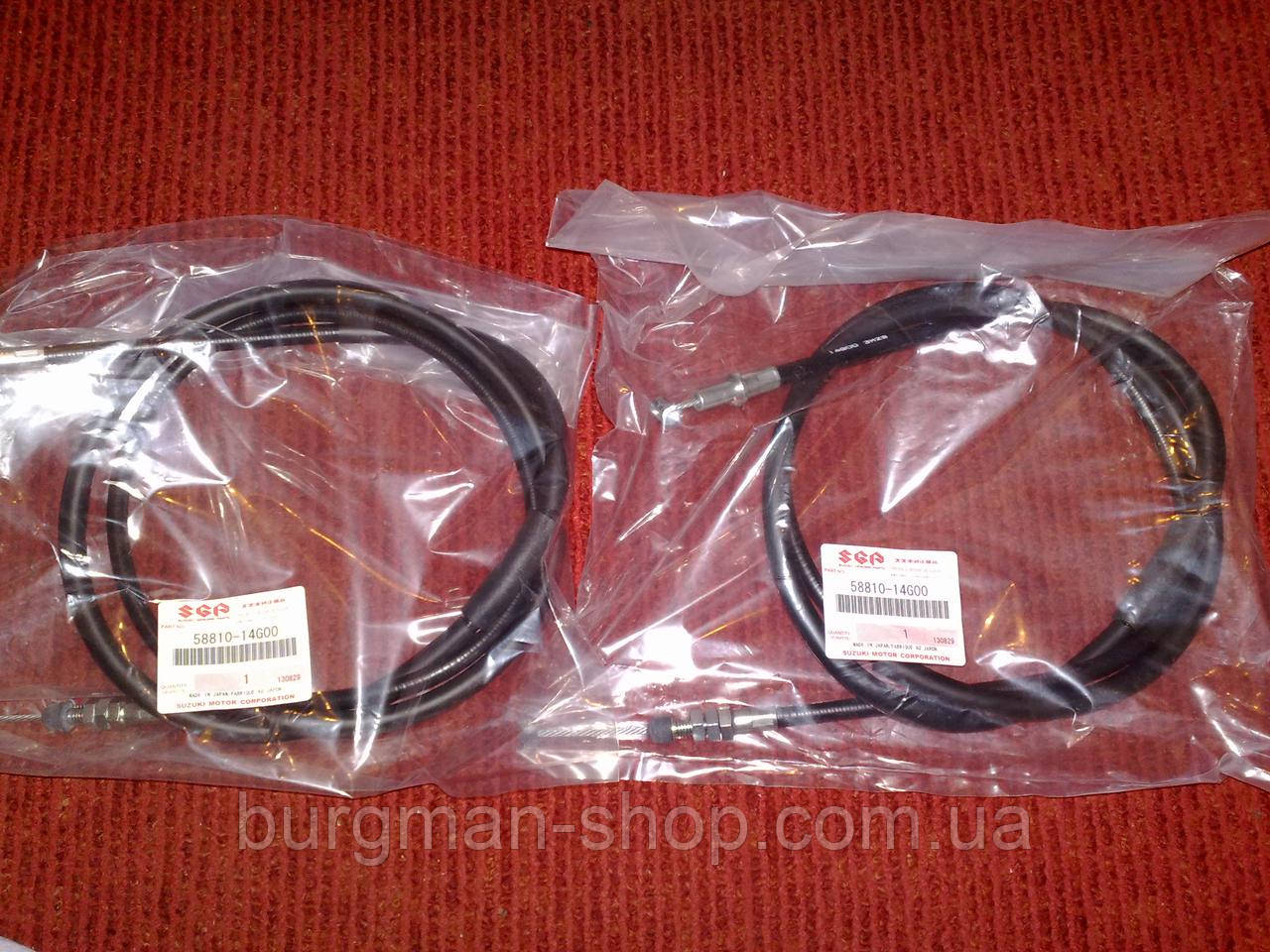 Трос ручника 250/400сс 03-06г Suzuki Burgman SkyWave 58810-14G00