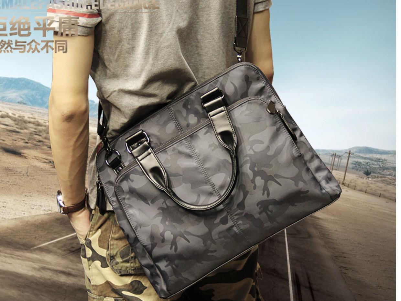 Мужская текстильная сумка. Модель 63253