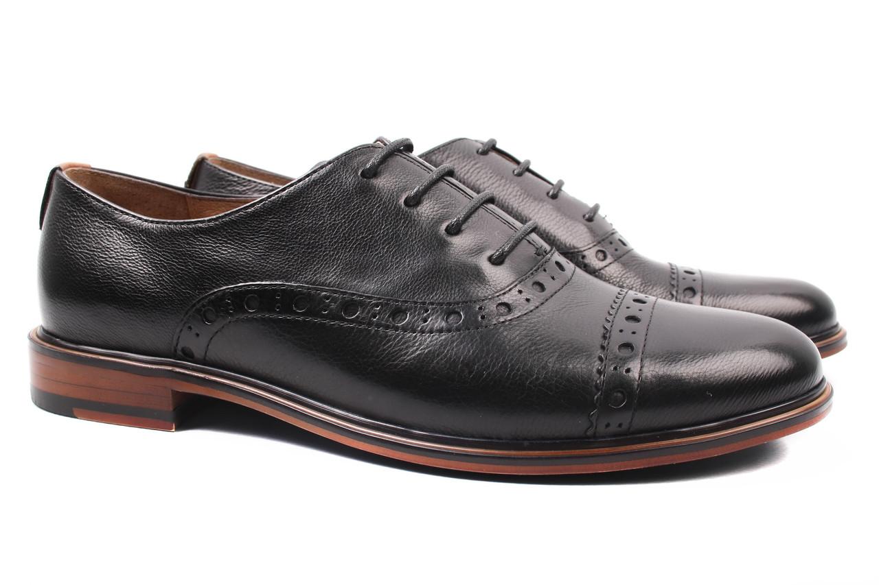 Туфли женские Anemone натуральная кожа, цвет черный (каблук, стильные, комфорт, весна\осень)