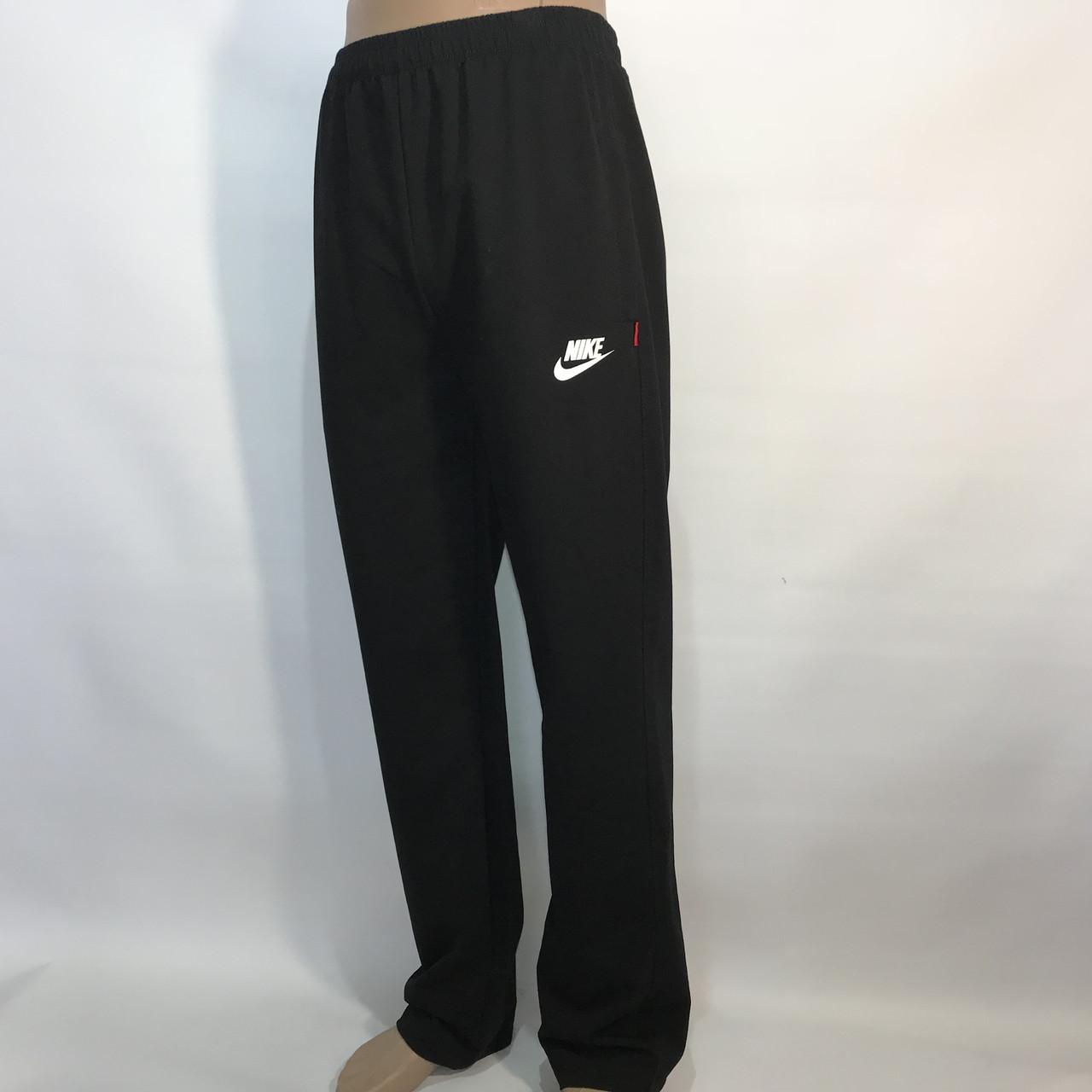 Чоловічі спортивні штани в стилі Nike прямі чорні р. 46,48,50,52,54