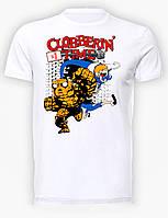 Футболка мужская размер L GeekLand Фантастическая Четверка Fantastic FourClobberin' TimeFF.01.004