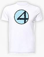 Футболка мужская размер L GeekLand Фантастическая Четверка Fantastic Four Logo FF.01.001