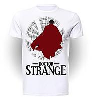 Футболка мужская размер L GeekLand Доктор Стрэндж Doctor Strange Силуэт красного плаща art DS.01.022