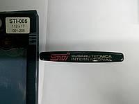 Наклейка 3D силиконовая STI  112х17 мм