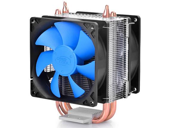 Вентилятор Deepcool ICE BLADE 200M (LGA 2011/1366/1150/1155/1156/775, FM1/FM2/AM2/AM3), кулер для процессора , фото 2