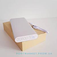 . Внешний аккумулятор Powerbank Xiaomi 20800mah, фото 1