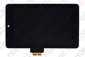 Asus Google Nexus 7 (ASUS-1B040A) 2012дисплейный модуль черный rev hv070wxz-180 rev CLAA070WP03