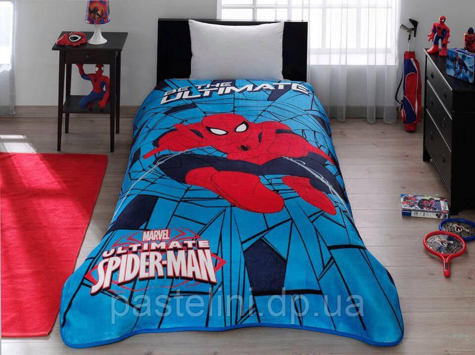 Плед - покрывало TAC Disney Spiderman Web 160х220