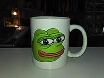 Чашка Меми Пепе Жаба