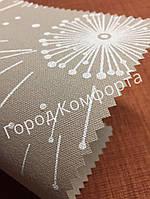 Ткань для рулонных штор Квіти 5428/2, фото 1
