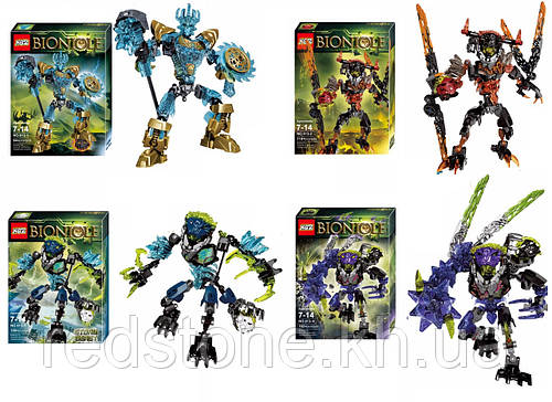 Конструктор KZC Bionicle 613 (LEGO BIONICLE) 4 вида