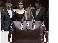 Мужская кожаная сумка. Модель 63266, фото 9