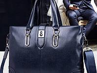 Мужская кожаная сумка. Модель 63266, фото 10