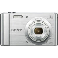 Фотоаппарат SONY DSC-W800 Silver