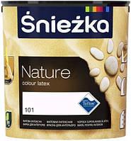 Водоемульсійна латексна фарба|Sniezka Nature, 2,5 л (101 Сріблясте жито)