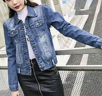 Модный джинсовый пиджак  (7191)