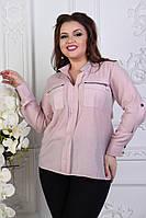 Женская блузка большие размеры, фото 1