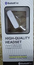Bluetooth гарнітура High-Quality Headset