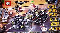 Конструктор SY 942 Бетмен Batman Movie Крутой Бэтмобиль 1683 детали, фото 1