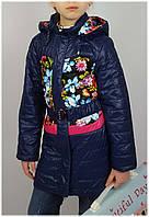 Плащ для девочки  HL 1501 весна-осень, размеры на рост от 116 до 140 возраст от 5 до 10 лет