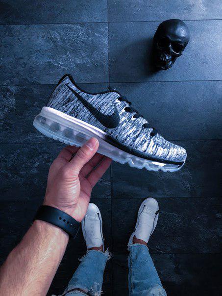 8f1db39e Мужские кроссовки Nike Air Max Flyknit 2015