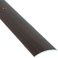 Профиль алюминиевый декоративный 30 мм 2.7 м орех бурбон