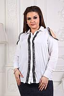 Женская рубашка большие размеры