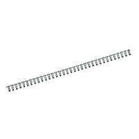 Пружина металлическая Axent 2806-A 6,4 мм, черная, 100 штук