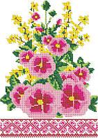 Рушник под икону для вышивания бисером РО 2