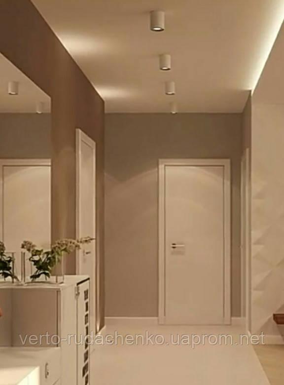 Двери Verto Идея 1 цвет Белый «Симплекс»