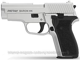 Пистолет стартовый (сигнальный) Retay Baron HK (chrome)