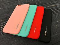 TPU чехол Smitt накладка бампер для iPhone 6 / 6S (4,7 дюйма) (4 цвета)