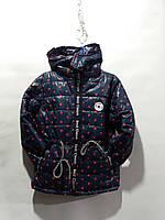 Курточка на девочку 2-6 лет