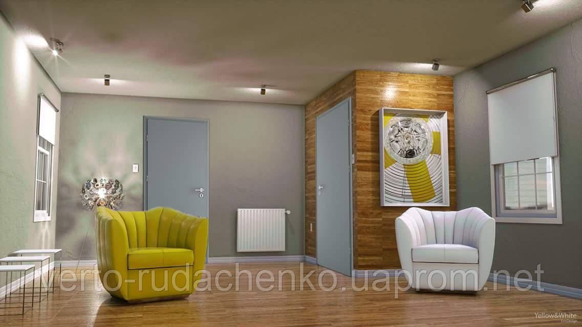 """Двери Verto Идея 1 цвет Серый """"Симплекс"""""""